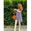 Жіночий шкіряний клатч L01050