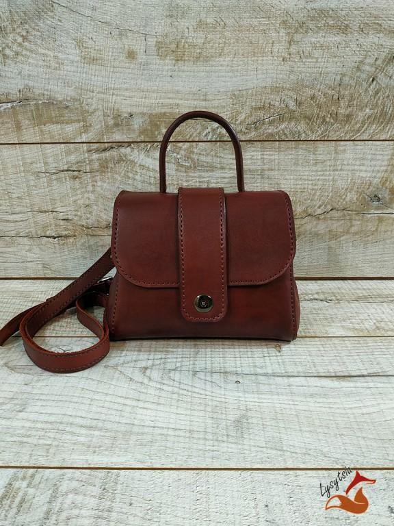 Жіноча шкіряна сумка L02010