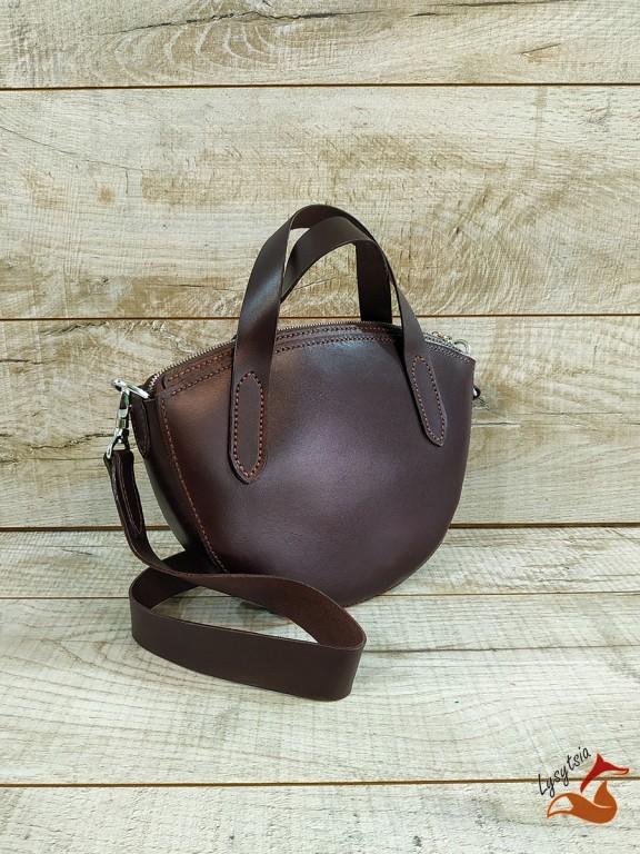 Жіноча шкіряна сумка L02021