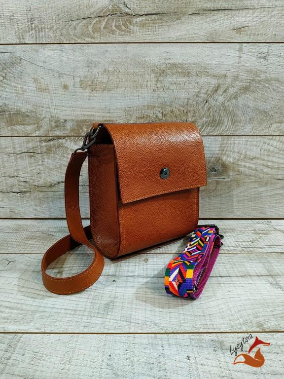 Жіноча шкіряна сумка L02130