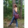 Жіноча шкіряна сумка L02170