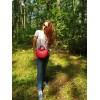 Женская кожаная сумка L02020