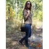 Жіночий шкіряний клатч L01070