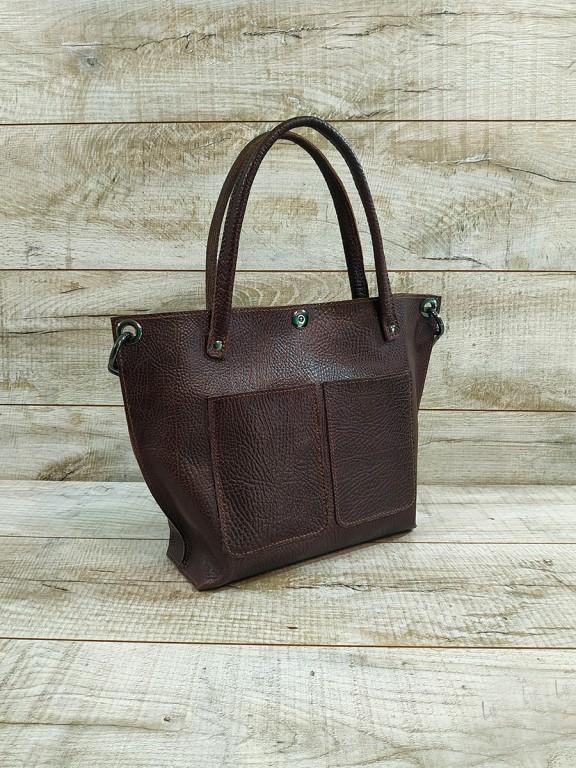 Женская кожаная сумка L02170