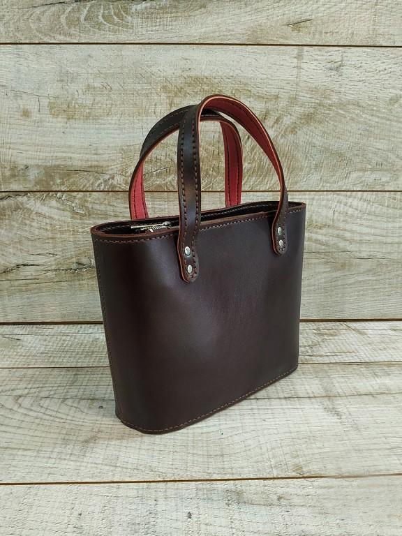 Жіноча шкіряна сумка  L02030