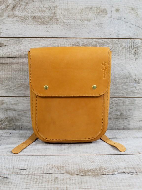 Жіночий шкіряний рюкзак L07011
