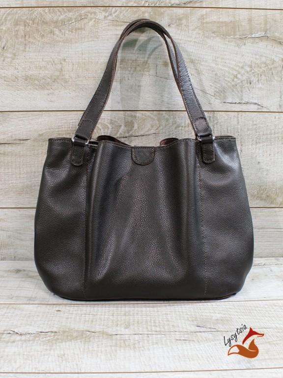 Жіноча шкіряна сумка  L02331