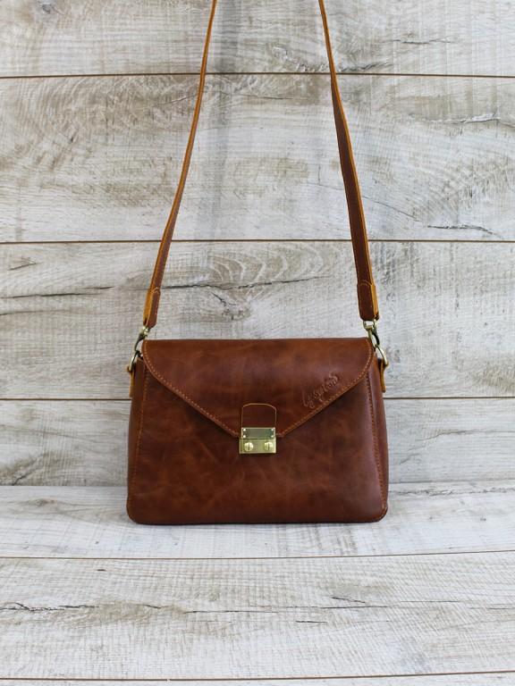 Жіноча шкіряна сумка  L02350