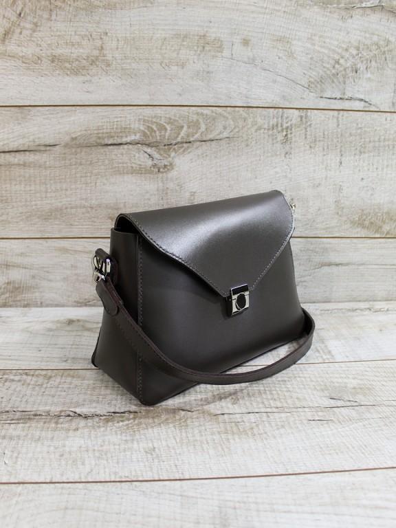 Жіноча шкіряна сумка  L02351