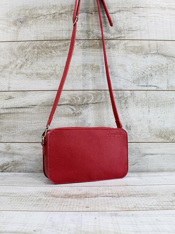 Жіноча шкіряна сумка  L02361