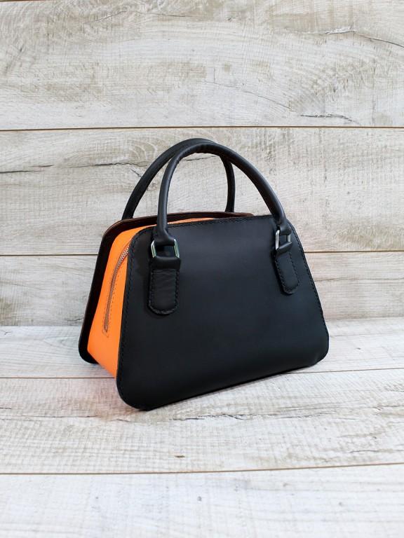Женская кожаная сумка L02380