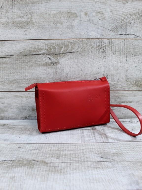 Женский кожаный клатч L01140
