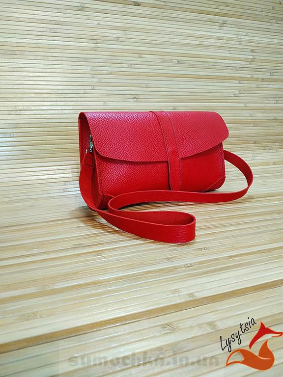 Женский кожаный клатч L01010