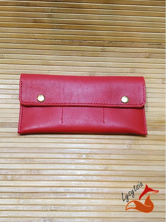 Кожаный кошелек L04020