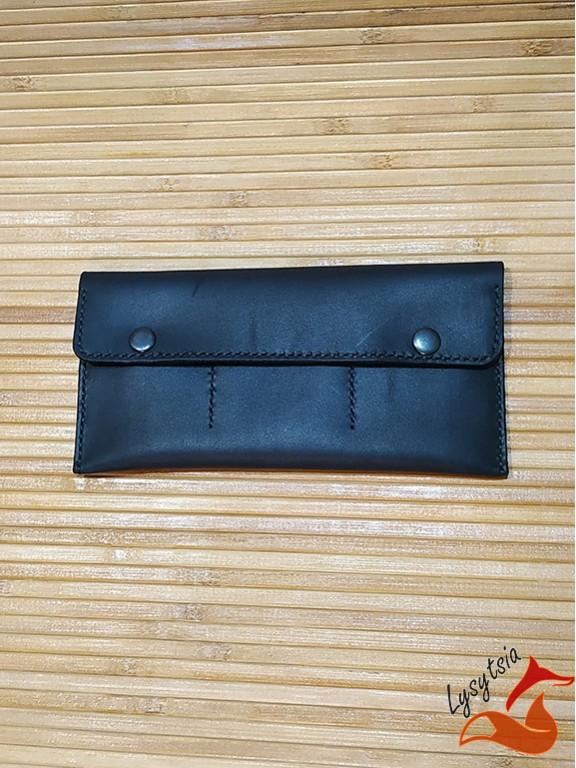 Кожаный кошелек L04021