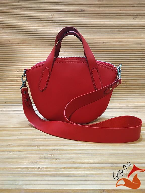 Жіноча шкіряна сумка L02020