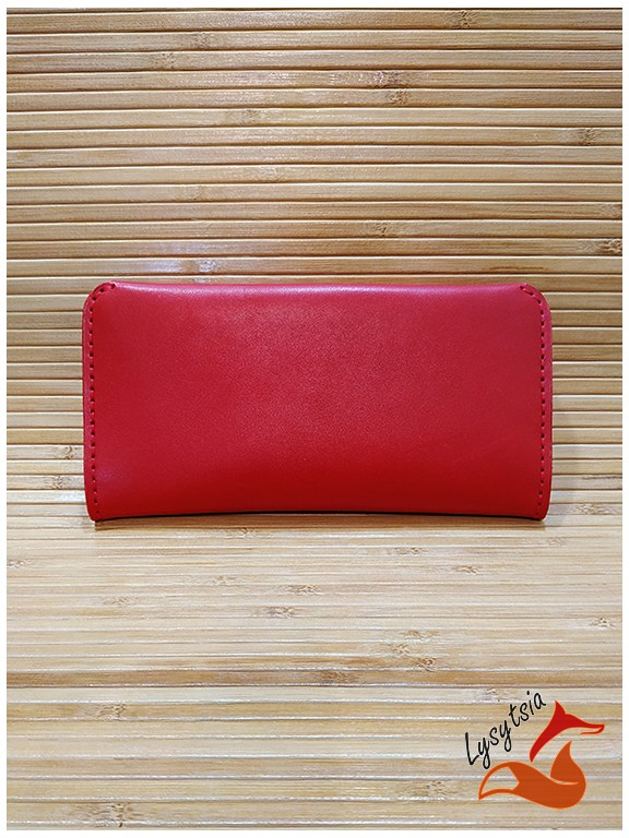 Кожаный кошелек L04030