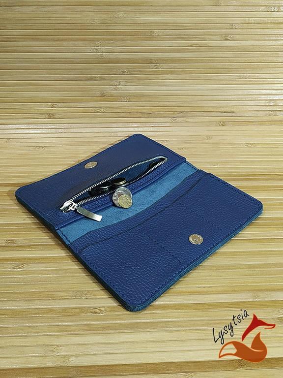 Кожаный кошелек L04050