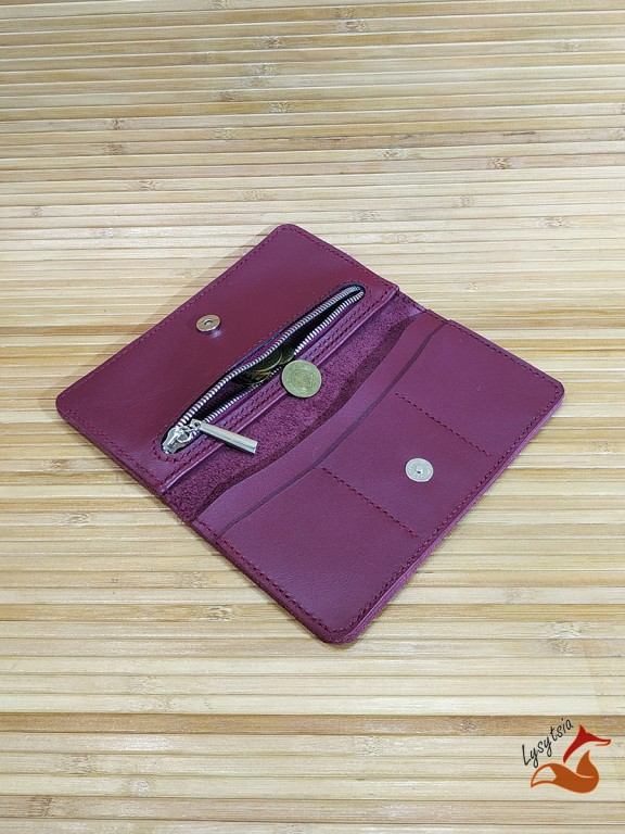 Кожаный кошелек L04051