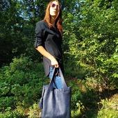Зараз найкращий час підібрати сумку до осіннього образу. Осінь не привід носити чорну сумку, тому ми рекомендуємо синій! Шкіряна сумка від LYSYTSIA відмінний вибір! З чим її поєднувати? З будь-якими речами в модному джинсовому стилі, ансамблями в стилі casual. Яскравий колірний акцент зробить будь-який образ незвичайним. Синій колір має особливу енергетику і символіку. 🦊 #шкірянасумка #сумкаукраїна #сумкиручноїроботи #кожанаясумка #сумкиLYSYTSIA #LYSYTSIA #boyarka #пошивсумок #ручнаяработа #сумкашоппер